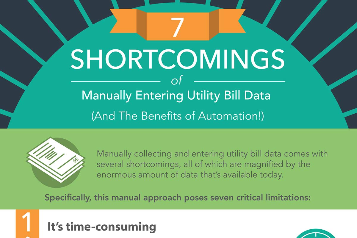 7 Shortcomings of Manually Entering Utility Bill Data